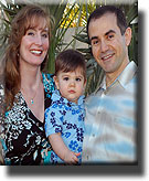 Dr. Mitch Freeman, wife Heather and son Aymen